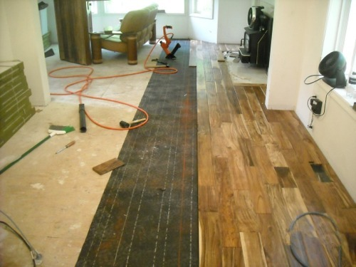 Handyman mike of gig harbor home remodeling photo gallery for Flooring installation
