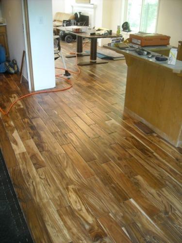 Fox island hardwood floor installation photo gallery from for Wood floor installation